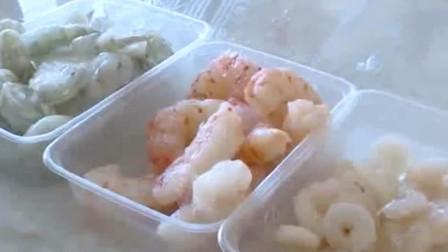 冰冻虾仁:买的是冰还是虾仁?经过试验之后,太让人意外了