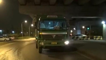 北京:交警夜查大货车,一晚上查获多起违法事故!