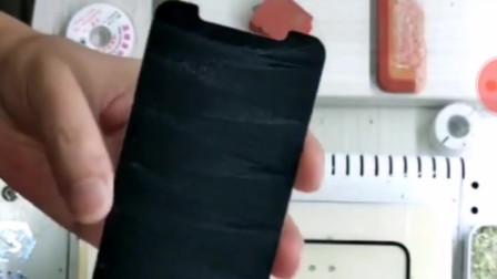 苹果X换外屏盖板系列--盖板分离除胶视频教程