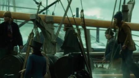 阿锋讲故事:一部冒险电影,古代人用这种方法,捕杀比船还大的鲸鱼