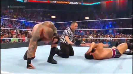 兰迪奥顿十大rko WWE 兰迪奥顿结束最快的一场比赛 这个RKO满分