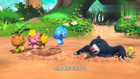 萌鸡小队:朵朵真厉害,就是不和小朋友玩,只和弟弟们踢毽子