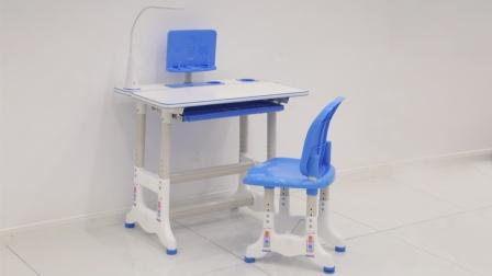 B20009学习桌椅安装视频