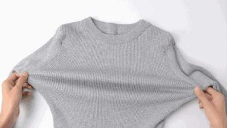 毛衣缩水不要急,轻松一招恢复原状,再也不怕毛衣缩水了!