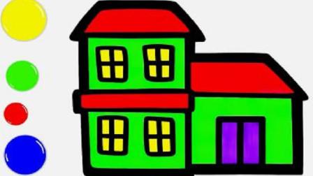 简易画教你画小别墅