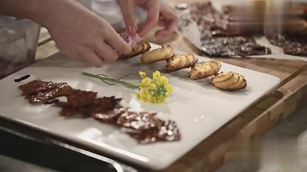 美女厨娘教你做曲奇饼干,香酥可口!