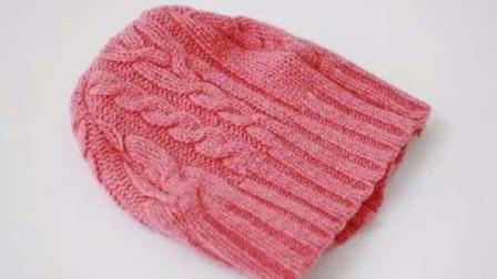 帽子不要买,教你2分多钟用一件毛衣改造,成品太好看
