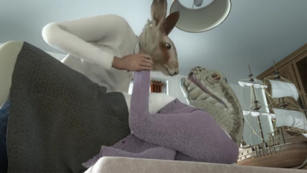 蛇夫人被野猪家暴,移情别恋兔子,还一起密谋干掉丈夫