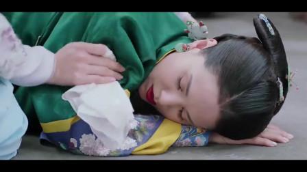 海棠经雨胭脂透:妙兰故意踩住了朗夫人的裙摆,让她摔倒在了地上