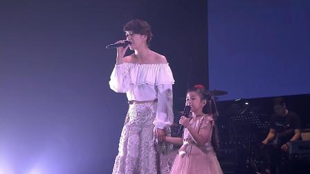 梁咏琪翻唱《真的爱你》致敬黄家驹,6岁小女孩一开口,让人泪目