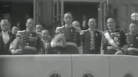 珍贵影像:末代皇帝溥仪登基仪式,一起来感受下现场真实的氛围!