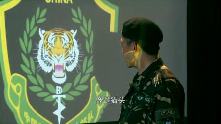 小庄突然笑了,队长问他乐什么,他说黑虎队的标志像一只猫!