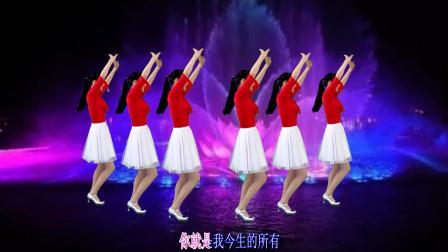 情歌对唱广场舞《爱在左情在右》旋律优美,听醉天下多少有情人!