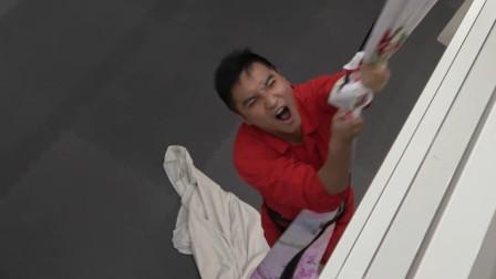 谷阿莫Life36:没有绳索时我真的能拿床单代替垂降成功吗?