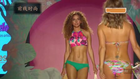 米兰时尚泳装秀,俏丽迷人的超模,让人心动不已