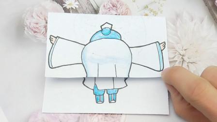 下蹲弯腰的熬丙站起姿势还能帅气吗?画的太搞笑了!
