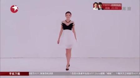 设计师把郭碧婷设计得宛如一个黑天鹅,是那么优雅,令人赏心悦目。