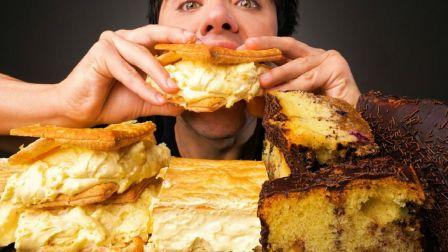 ☆ McBang ☆ 自制巧克力涂层核桃蓝莓磅蛋糕、欧式卡仕达夹心布雷德起酥蛋糕 食音咀嚼音(新)