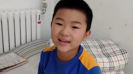 山东10岁增肥男孩成功为父捐骨髓 称现在太胖得减10斤