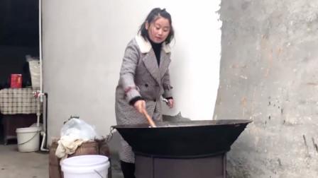 想吃霉豆渣不用买了,湖南姑娘把做法给你了,过程简单易学!