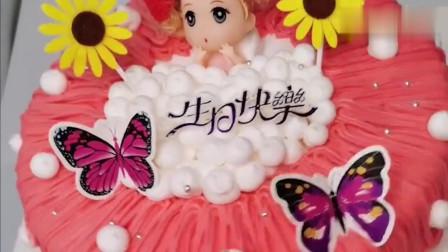 蛋糕裱花跟拉面似的,太治愈了!