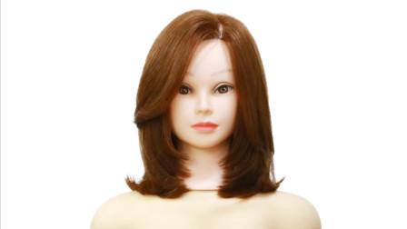 斜刘海网红同款齐肩锁骨发修剪技术,简单直观,看懂你就学到了