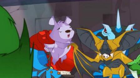 兽王争锋:泰羽被放出去,原来是和灵兽搏斗,给座位上的坏人看