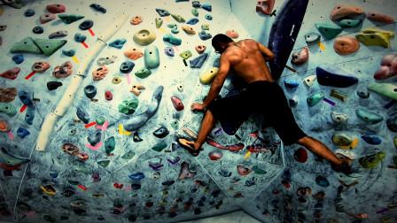 在这个冬天,让生命充满着力量和激情!这就是攀岩