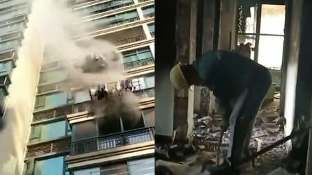 长沙一男孩做实验把家烧没 父亲:不会怪他
