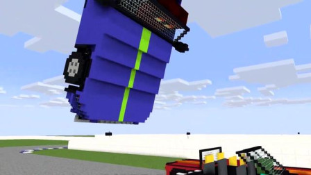 我的世界动画-怪物学院-极速赛车-Clash Apolon
