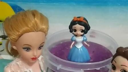 老神仙想把做坏事的贝儿变成钱币,她抓住了一位公主,被抓的是贝儿吗?