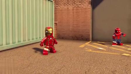 钢铁侠变身反浩克战甲,身躯都塞满了