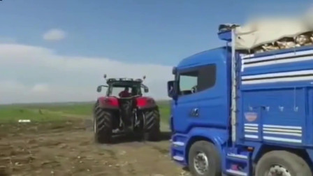 价值50万的拖拉机,能拉动大货车吗?