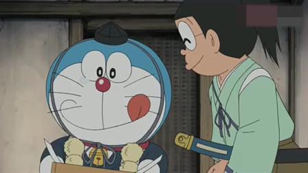 哆啦A梦:哆啦A梦吃了难吃的铜锣烧,脸都气红了