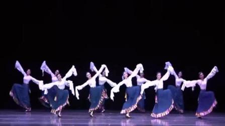 云舞裳丨舞蹈藏族舞群舞康定情歌中央民族大学舞蹈学院 学段藏族舞 年会上表演 单独舞蹈 歌伴舞形式均可