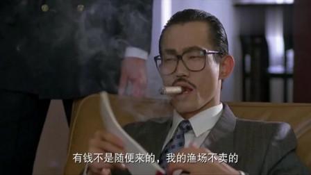 元华抽雪茄,扮黑社会大佬太霸气