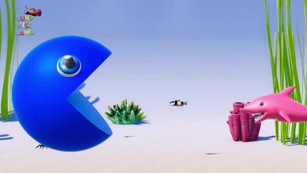 吃豆大作战:吃豆人VS鲨鱼