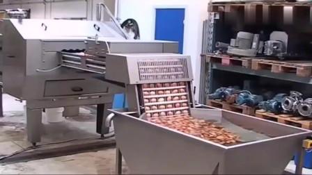 鸡蛋放进去,蛋黄蛋白就自动分离出来,德国自动鸡蛋分离机太先进