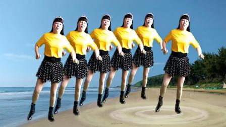 经典老歌广场舞《疯狂爱爱爱》歌曲欢快时尚好学分解