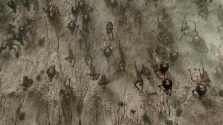 一大群飞行怪物从地下冒出来,人类死伤惨重,一部末日来临的电影