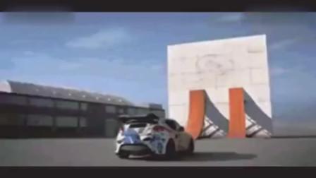这才叫车技,在墙上漂移!比速度与激情里面还厉害