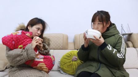 婆婆自己喝鸡汤,让坐月子的儿媳啃干馒头,幸亏老天开眼