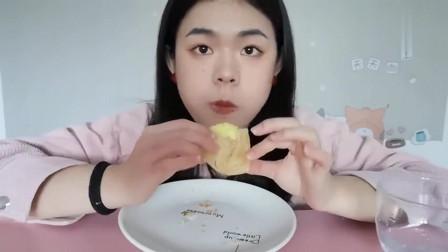 《中国吃播》芒果酥、香葱卷、椰酥条、榴莲酥!佛系吃播、无人声!