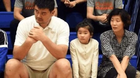 姚明9岁女儿身高近1米7,并且从小热爱篮球!网友:女承父业