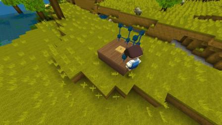"""迷你世界小课堂14:教大家做一个""""困怪笼""""我觉得更像娱乐设施"""