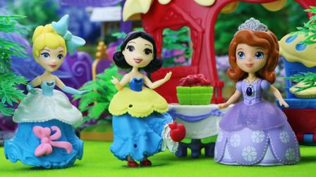 奇趣箱小公主苏菲亚 第一季 巫婆用魔法让美味的苹果派消失了,苏菲亚公主能找回来吗?