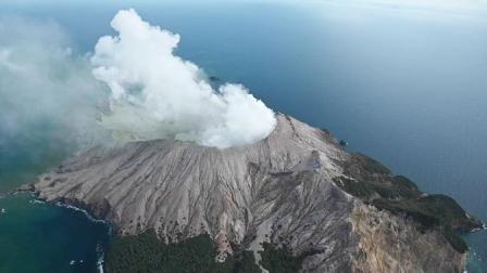 新西兰火山喷发已致1死20余伤,仍有多人下落不明