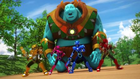 迷你特工队  帕斯克想要伤害森林守护神 没有得逞