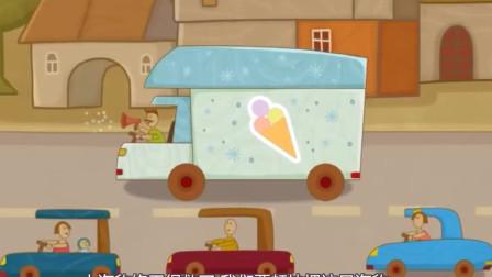 冰激淋车历经千辛万苦拯救大海象!汽车玩具游戏