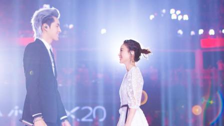 赵丽颖胆子不是一般的大,竟然和吴亦凡唱这么肉麻的情歌,听得腿软